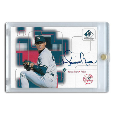 Mariano Rivera Autographed Card 1999 SP Signature Series
