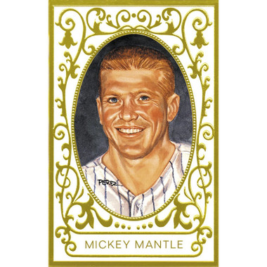 Mickey Mantle Perez-Steele Masterworks Limited Edition Postcard # 6