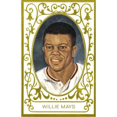 Willie Mays Perez-Steele Masterworks Limited Edition Postcard # 11
