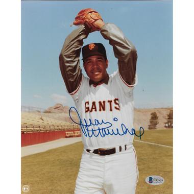 Juan Marichal Autographed 8x10 Photograph (Beckett-29)