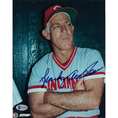 Sparky Anderson Autographed 8x10 Photograph (Beckett-48)