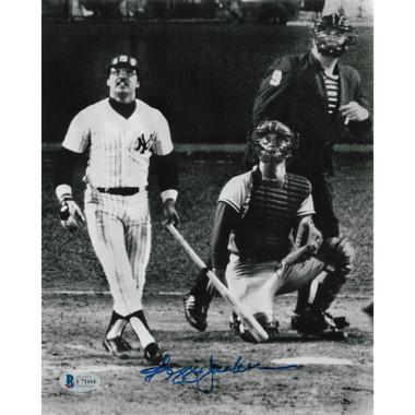 Reggie Jackson Autographed 8x10 Photograph (Beckett-61)