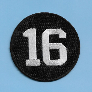 Whitey Ford 16 New York Yankees Memorial Embroidered Patch