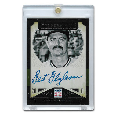 Bert Blyleven Autographed Card 2015 Panini Cooperstown # 3