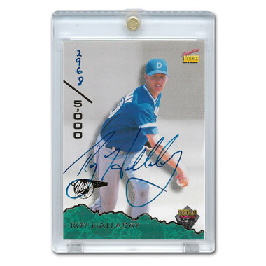 Roy Halladay Autographed Card 1995 Signature Rookies # 72