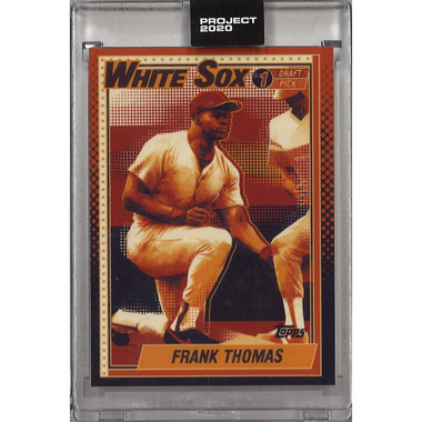 Frank Thomas Topps Project 2020 # 83 - Matt Taylor