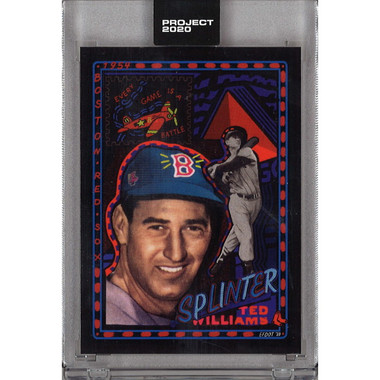 Ted Williams Topps Project 2020 # 74 - Efdot