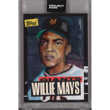 Willie Mays Topps Project 2020 # 101 - Jacob Rochester