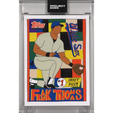 Frank Thomas Topps Project 2020 # 96 - Fucci