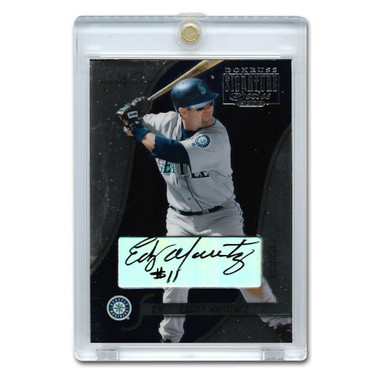 Edgar Martinez Autographed Card 2003 Donruss Signature Notations Ltd Ed of 250