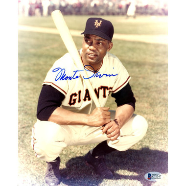 Monte Irvin Autographed 8x10 Photograph (Beckett-47)