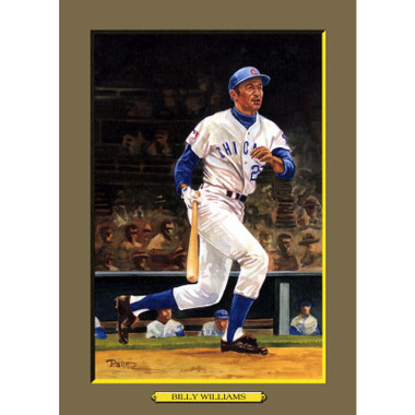 Billy Williams Perez-Steele Hall of Fame Great Moments Limited Edition Jumbo Postcard # 69
