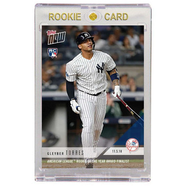 Gleyber Torres New York Yankees 2018 Topps Now # 17 Rookie Card