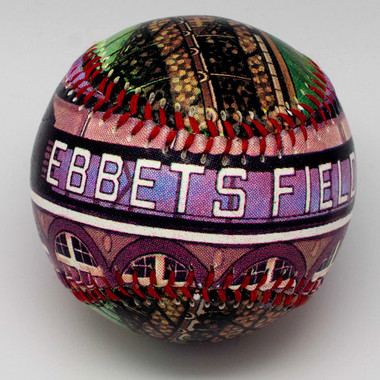 Ebbets Field Unforgettaballs Limited Commemorative Baseball with Lucite Gift Box