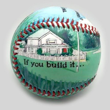 Field of Dreams Unforgettaballs Limited Commemorative Baseball with Lucite Gift Box