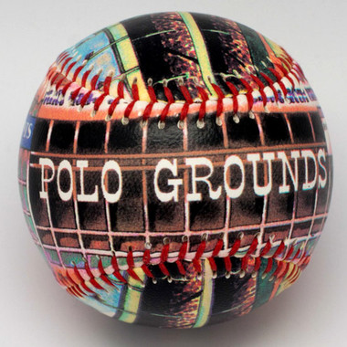 The Polo Grounds Unforgettaballs Limited Commemorative Baseball with Lucite Gift Box