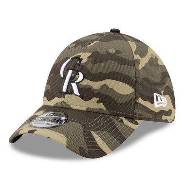 New Era Colorado Rockies Armed Forces Day Collection 39THIRTY Flex Fit Cap
