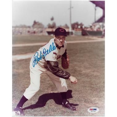 Bob Feller Autographed 8x10 Photograph (PSA) - Color