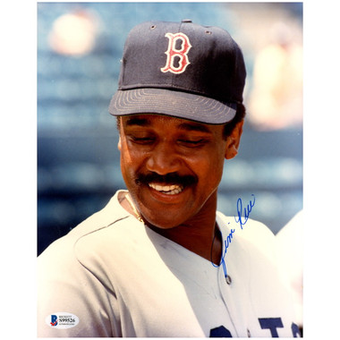 Jim Rice Autographed 8x10 Photograph (Beckett-1)