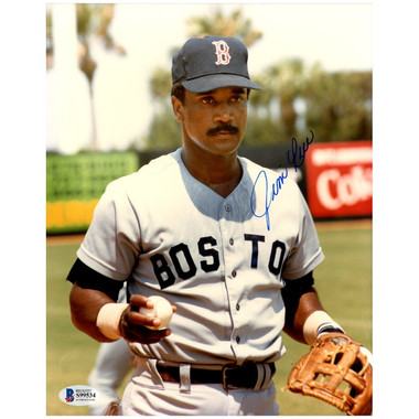 Jim Rice Autographed 8x10 Photograph (Beckett-2)