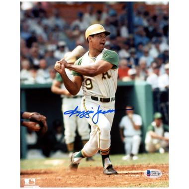 Reggie Jackson Autographed 8x10 Photograph (Beckett-1)