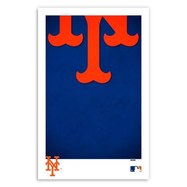 New York Mets Minimalist Team Logo Collection 11 x 17 Fine Art Print by artist S. Preston
