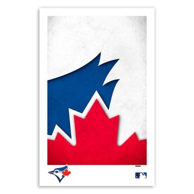 Toronto Blue Jays Minimalist Team Logo Collection 11 x 17 Fine Art Print by artist S. Preston