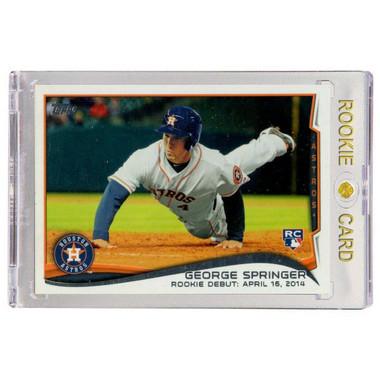 George Springer Houston Astros  2014 Topps Update  # 210 Rookie Card
