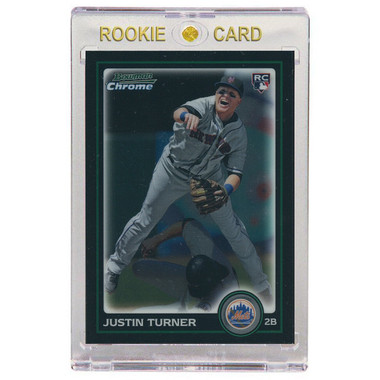 Justin Turner New York Mets 2010 Bowman Draft Chrome # 105 Rookie Card