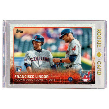 Francisco Lindor Cleveland Indians 2015 Topps Update # US286 Rookie Card