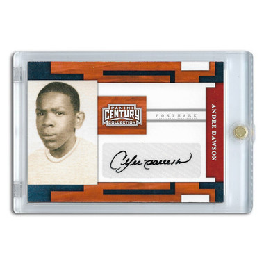 Andre Dawson Autographed Card 2010 Panini Century Collection Ltd Ed of 250