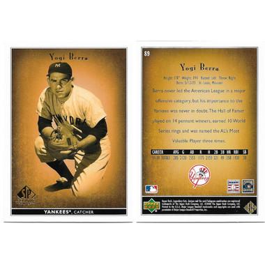 2002 Upper Deck SP Legendary Cuts 90 Card Baseball Set