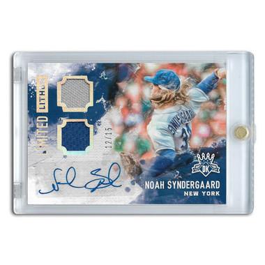 Noah Syndergaard Autographed Card 2017 Diamond Kings Limited Lithos Ltd Ed of 15