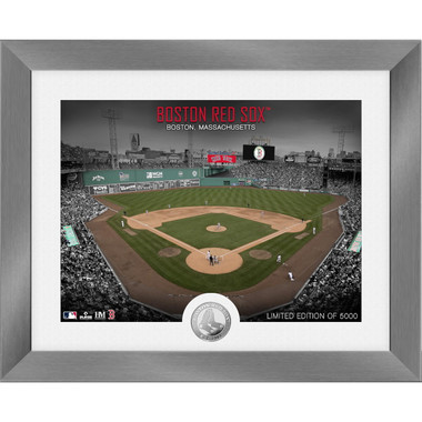 Highland Mint Boston Red Sox Art Deco Stadiums Silver Coin 13 x 16 Photo Mint
