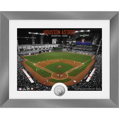 Highland Mint Houston Astros Art Deco Stadiums Silver Coin 13 x 16 Photo Mint