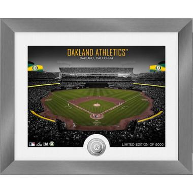 Highland Mint Oakland Athletics Art Deco Stadiums Silver Coin 13 x 16 Photo Mint