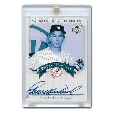 Gene Michael Autographed Card 2003 Upper Deck Yankees Signature Series #PN-GM
