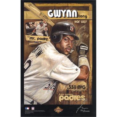 Tony Gwynn San Diego Padres 11 x 17 Limited Edition Lithograph