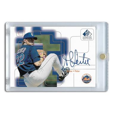 Al Leiter Autographed Card 1999 SP Signature Series