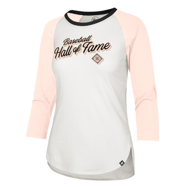 Women's '47 Brand Baseball Hall of Fame Uptown Long Sleeve Baseball Shirt