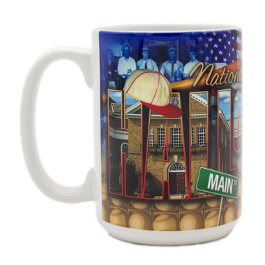 Baseball Hall of Fame Collage Mug