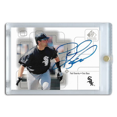 Paul Konerko Autographed Card 1999 SP Signature Series