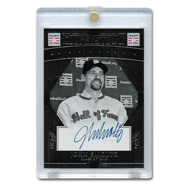 John Smoltz Autographed Card 2015 Panini Cooperstown # 26
