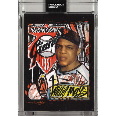 Willie Mays Topps Project 2020 # 61 - King Saladeen