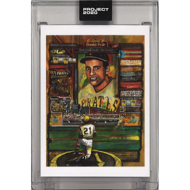 Roberto Clemente Topps Project 2020 # 138 - Andrew Thiele