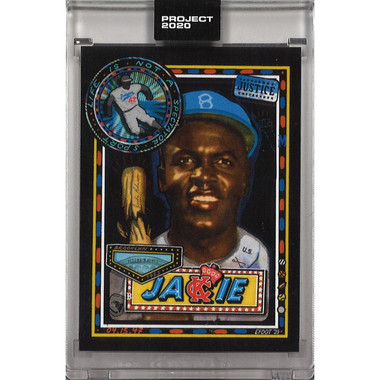 Jackie Robinson Topps Project 2020 # 114 - Efdot