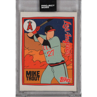 Mike Trout Topps Project 2020 # 63 - Fucci