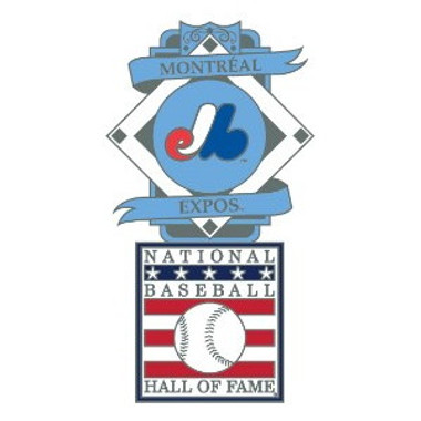 Montreal Expos Baseball Hall of Fame Logo Exclusive Collector's Pin