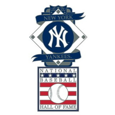 New York Yankees Baseball Hall of Fame Logo Exclusive Collector's Pin