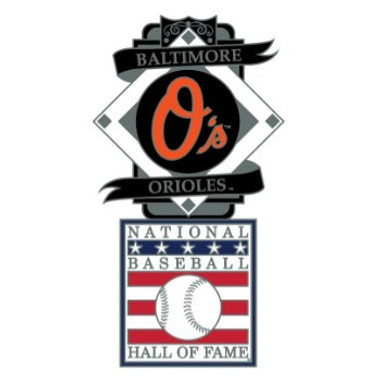 Baltimore Orioles Baseball Hall of Fame Logo Exclusive Collector's Pin
